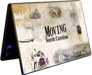 DVD Case for the public television documentary Moving North Carolina