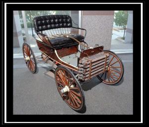 1906 Buggymobile on display at the North Carolina Museum of History