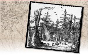 A log cabin
