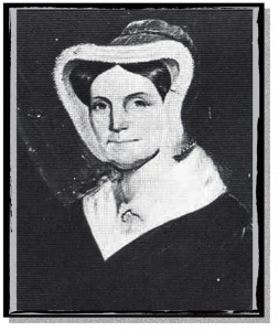 Sarah Hawkins Polk, who suggested an experimental railroad in Raleigh