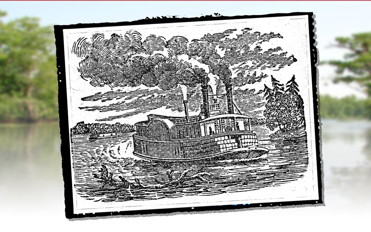 The Steamboat: Wooding Up