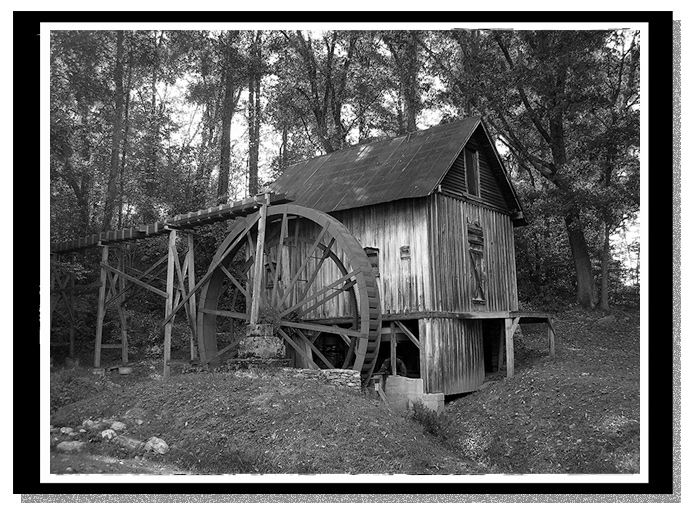 Francis Grist Mill, Haywood County, North Carolina