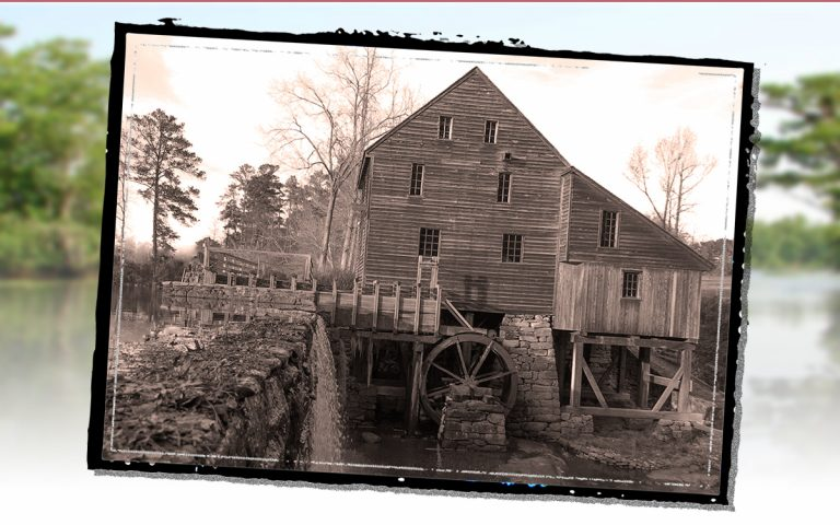 The Gristmill: Creating Meal, Flour & Roads