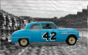 "Lee Petty's 1950 ""Petty Blue"" Plymouth"