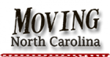 The Moving North Carolina logo